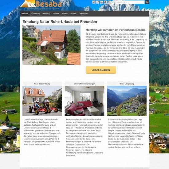 Webdesigner gesucht Homepage Webseite Ferienwohnung